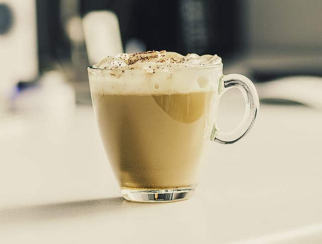 keto kawa jajeczne cappuccino
