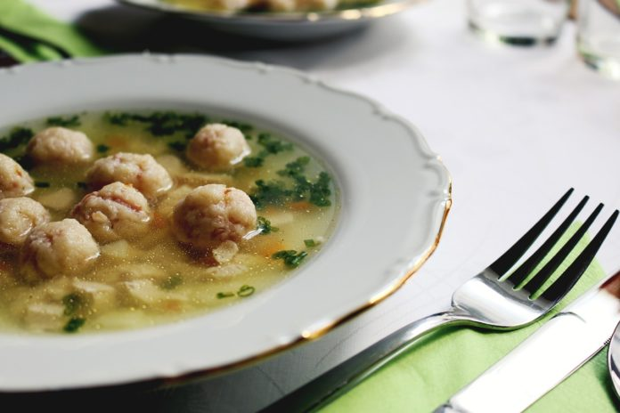 zupa z pulpetami lchf zupa