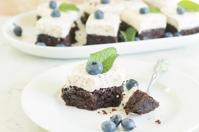 keto brownie straciatella