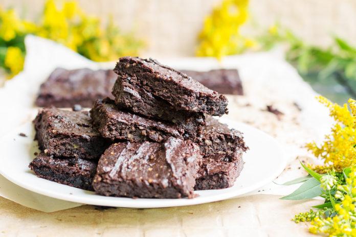keto awokado brownies