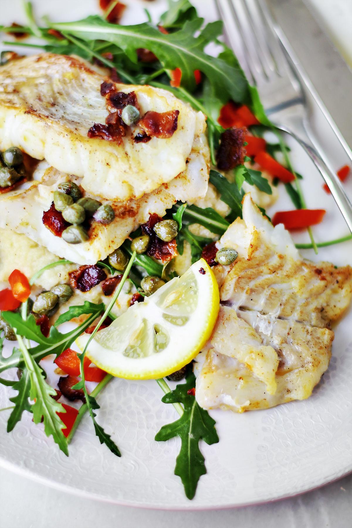 ryba keto obiad
