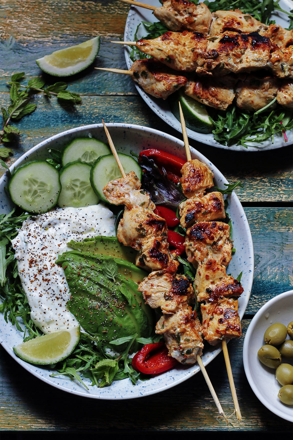 grillowne szaszlyki kuchnia ketogeniczna przepis