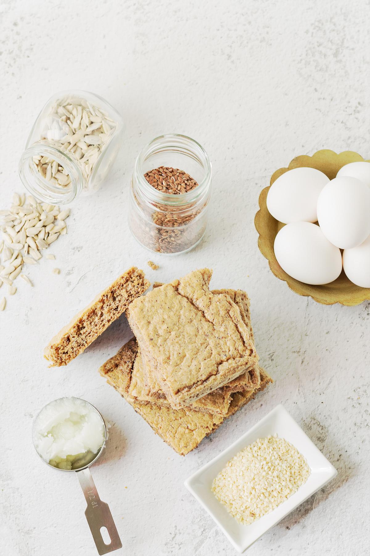 przepis lchf chleb z nasion zdrowe odchudzanie