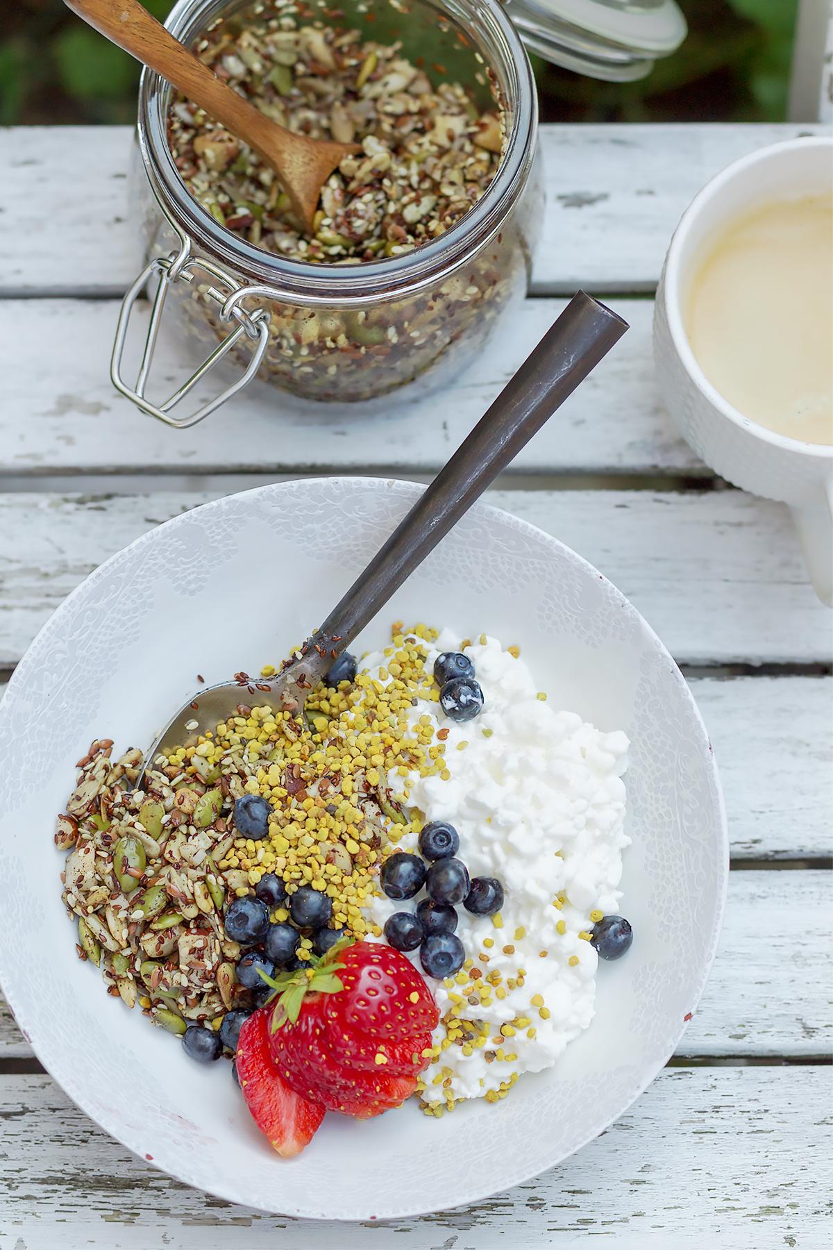 lchf kuchnia granola kup dietę odchudzanie