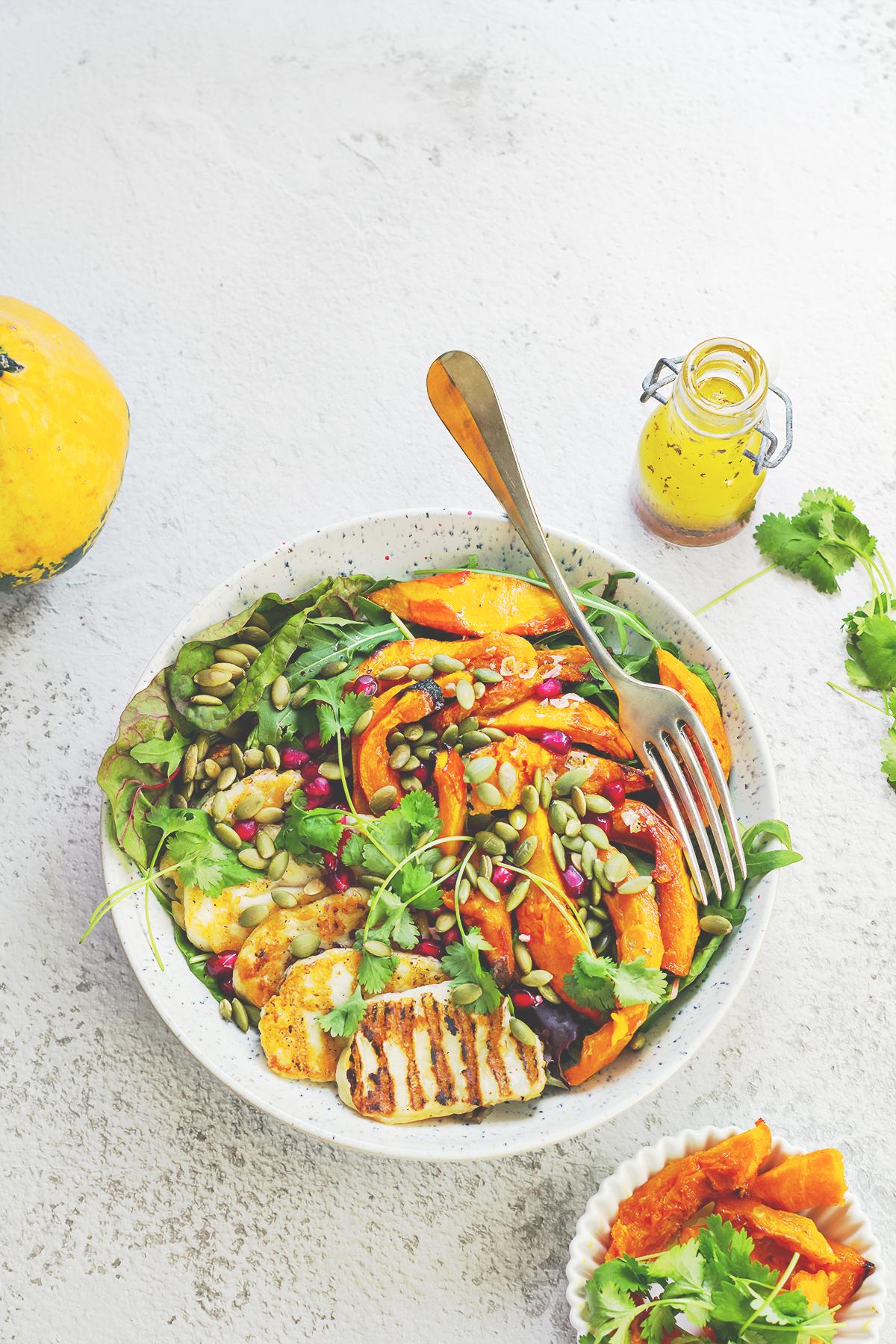 sałatka z dyni lchf dieta przzepisy zdrowe odchudzanie