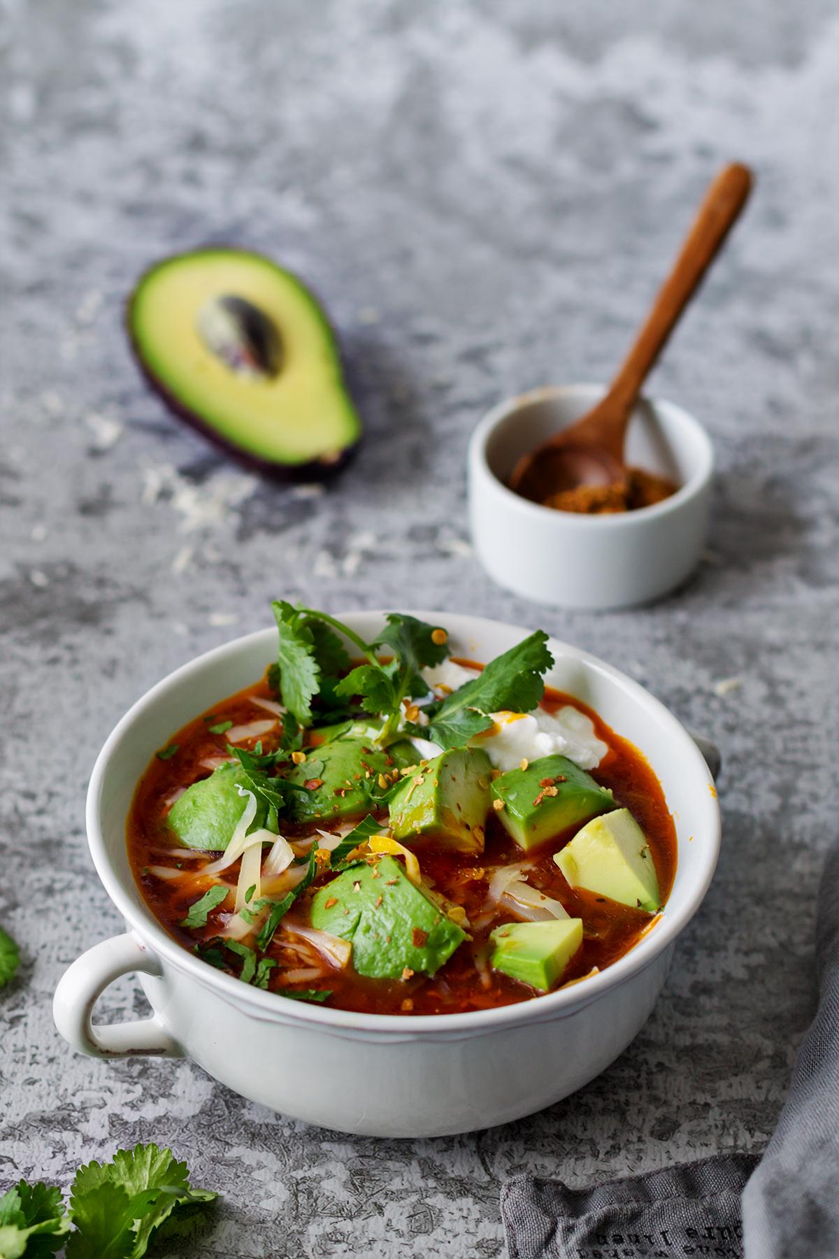 keto taco zupa dieta odchudzanie lchf