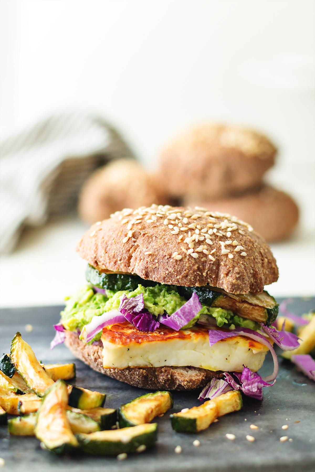 burgery z halloumi zdrowe odżywianie odchudzanie bez głodu lchf dieta