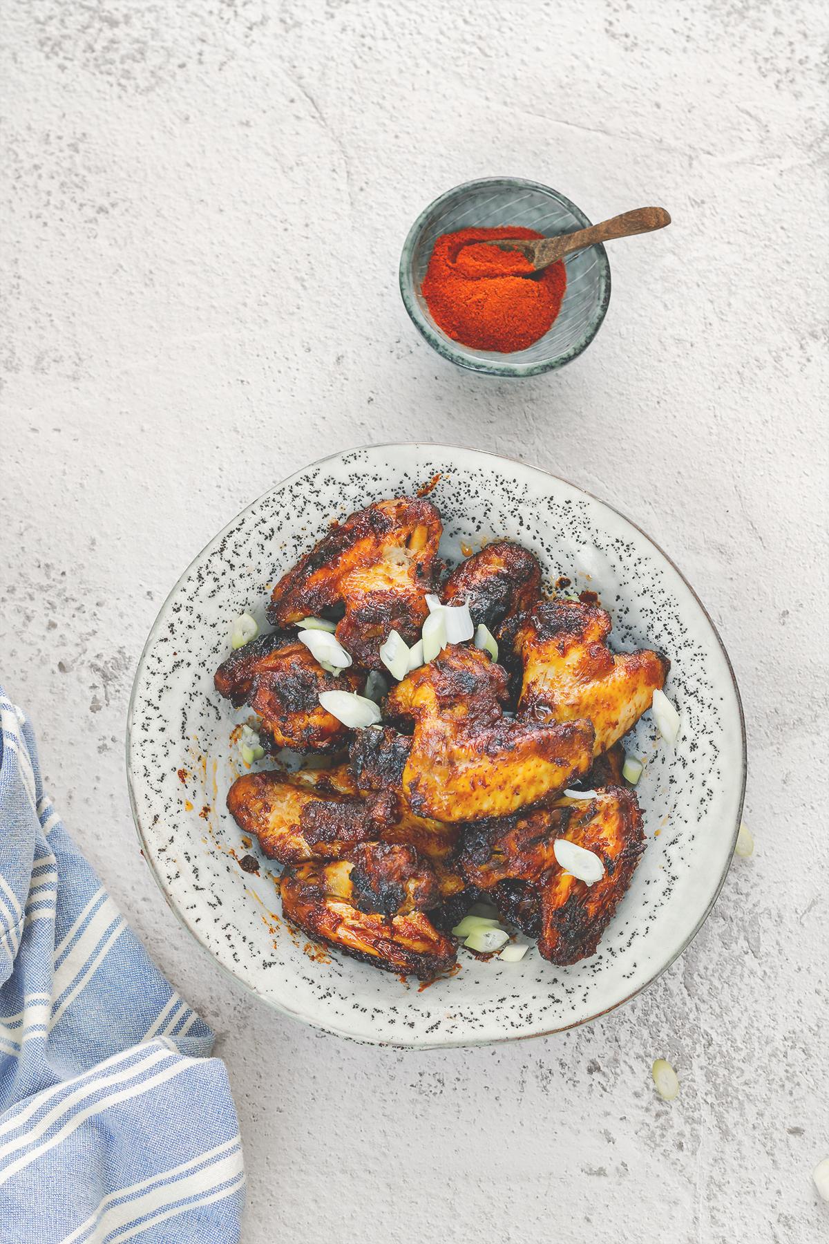 keto skrzydelka obiad dieta zdrowe odchudzanie lchfdieta
