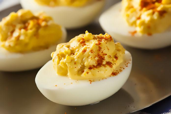 przepis na jajka