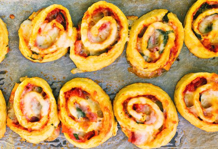 keto pizza ślimaczki