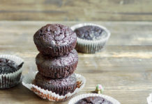 LCHF muffinki czekoladowe
