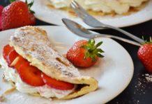 migdałowy omlet
