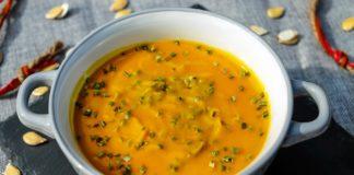 keto zupa fajita z dyni i kurczaka