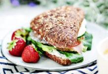 kanapka proteinowa przepis lchf