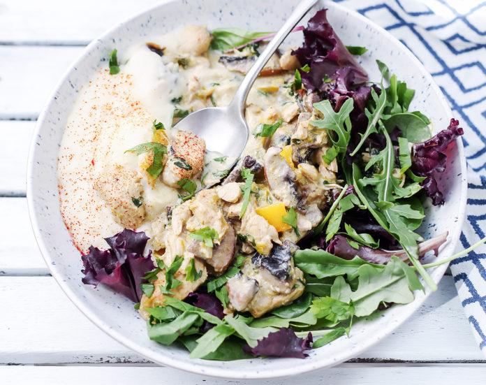 sos z kurczaka niskowęglowodanowy lchf dieta