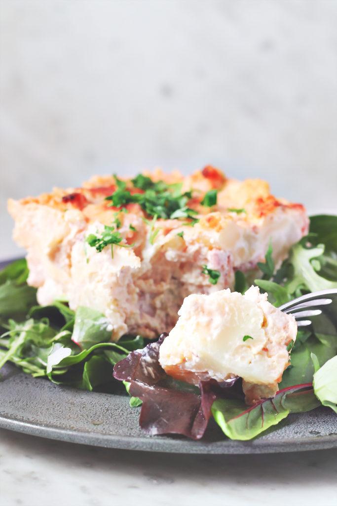 LCHF zapiekanka kalafiorowa lchf dieta
